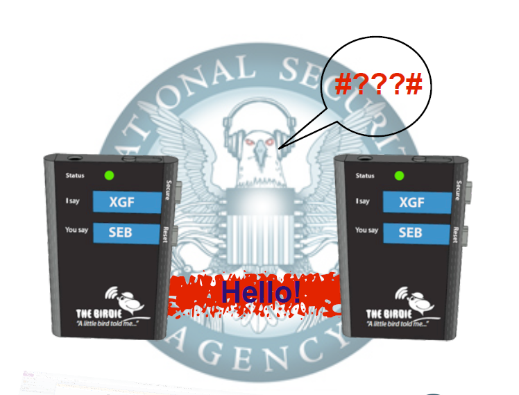 Birdie NSA unapproved